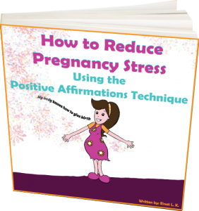 The wonderful book How to Reduce Pregnancy Stress Using the Positive Affirmations Technique