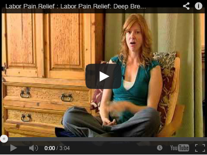 Techniques for Labor Pain Relief: Deep Breathing